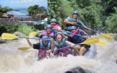 Ayung River Rafting + Tanah Lot Tour