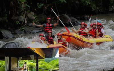 Ayung River Rafting + 2 Hours Spa