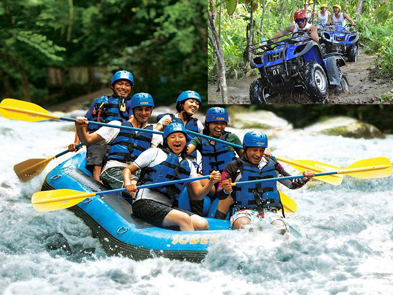 Ayung River Rafting + ATV Quad Bike Ride