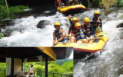 Telaga Waja River Rafting + 2 Hours Spa