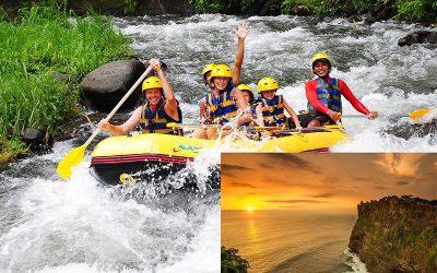 Ayung River Rafting + Uluwatu Sunset Tour