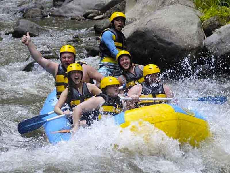 Ayung River Rafting Ubud Bali
