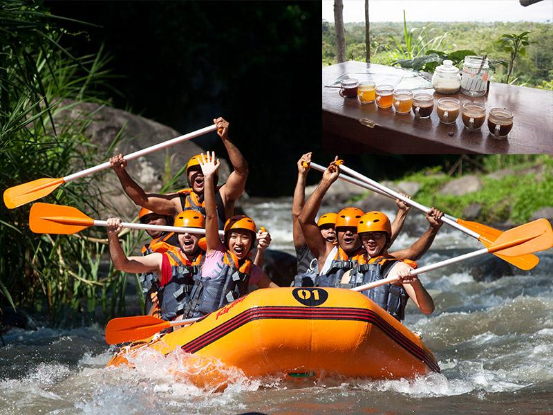 Ayung River Rafting + Bali Ubud Tour