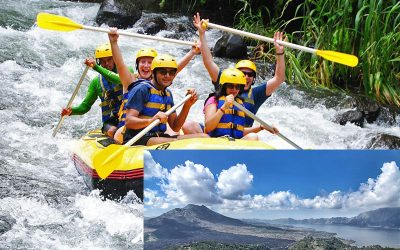 Ayung River Rafting + Kintamani Volcano Tour