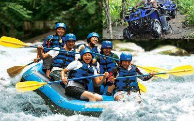 Ayung River Rafting + ATV Quad Bike Ride