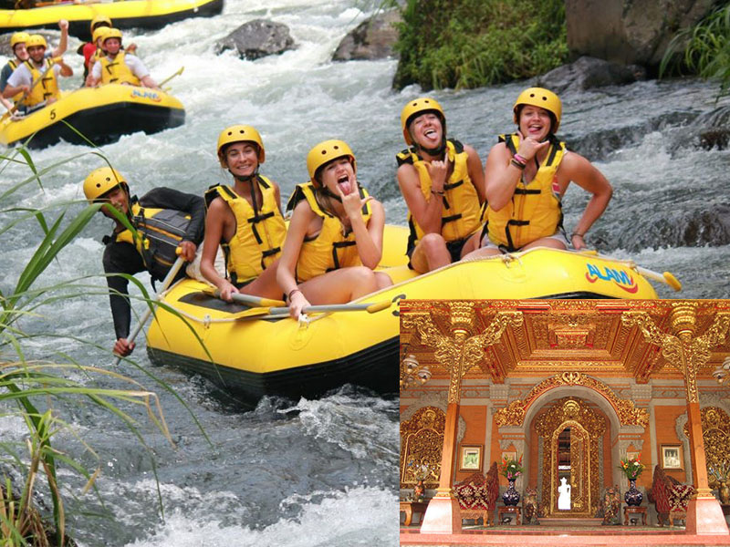 Telaga Waja River Rafting + Ubud Tour