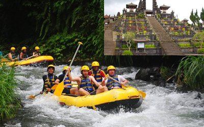 Telaga Waja River Rafting + Besakih Temple Tour