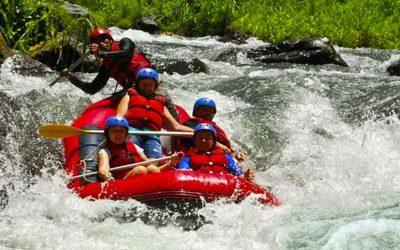 Telaga Waja River Rafting Bali