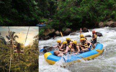 Ayung River Rafting + Swing Tour