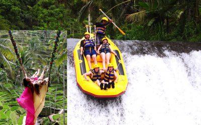 Telaga Waja River Rafting + Bali Swing Tour